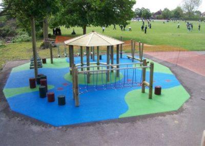 Park Playground Surfacing
