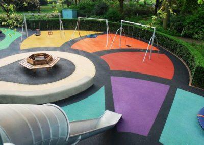 St Johns Wood Playground Surfacing