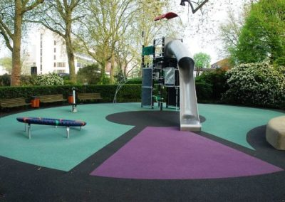 St Johns Wood Wet Pour Surfacing