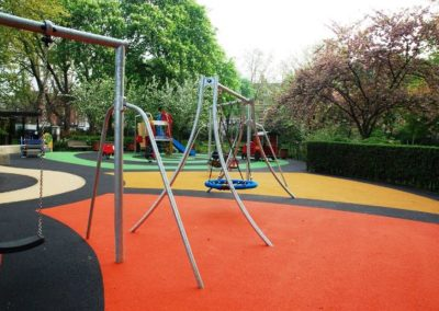 St Johns Wood colourful Surfacing