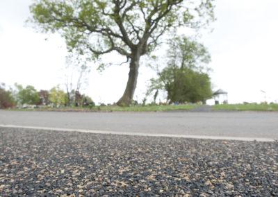 Porous paving for walkways