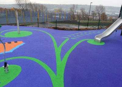 Hodgkin Park Newcastle Colourful Surfacing