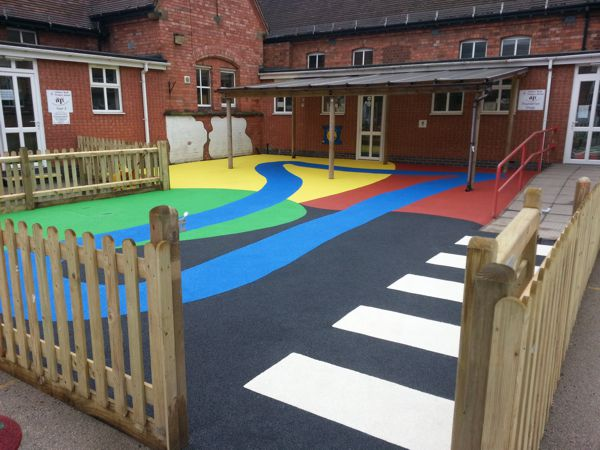 Playground Wet Pour Surfacing Gallery Image