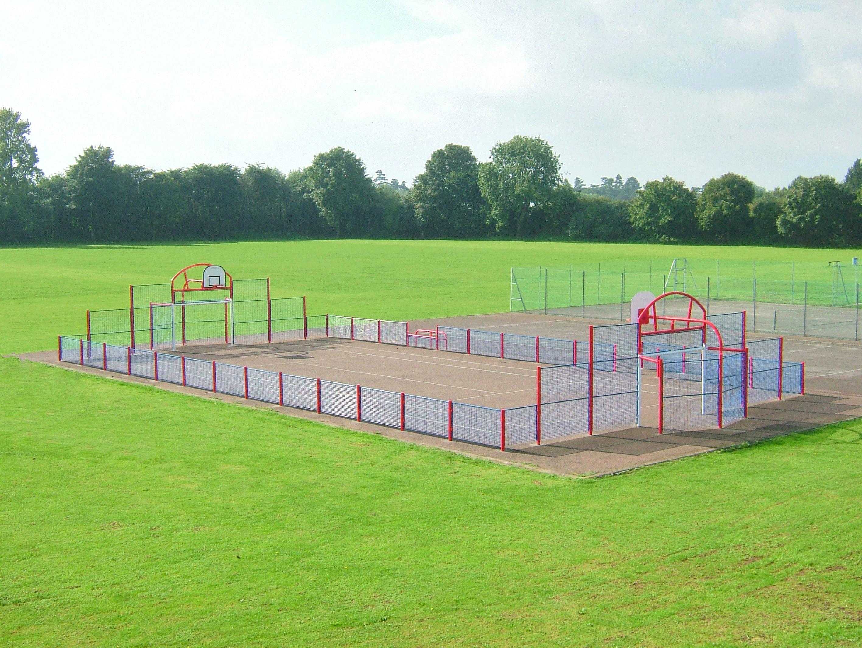 Muga Sport Court Surfacing Abacus Playgrounds