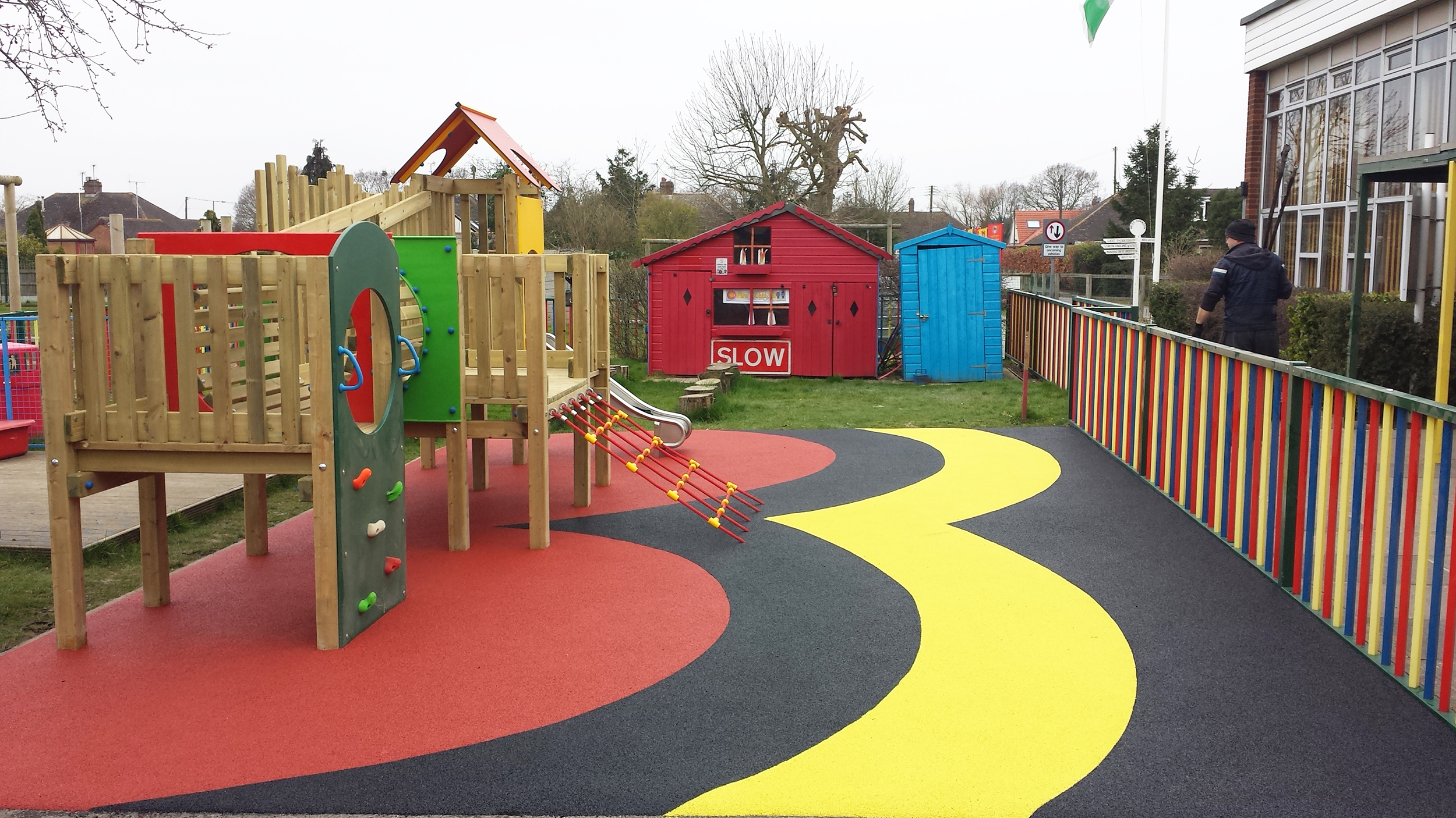 Wet Pour Surfacing A Safe Durable Amp Colourful Surfacing