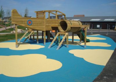 Themed Playground surfacing