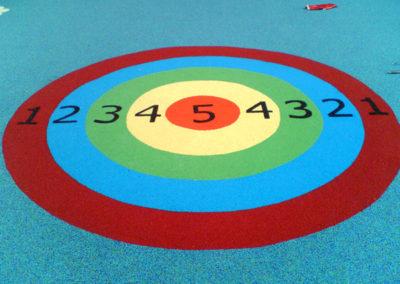 Target Play Markings