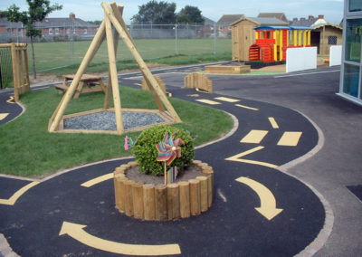 Timber Playground Play Surfacing