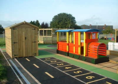 Car Park Playground Markings