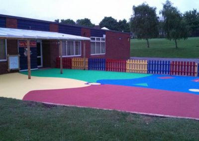 Greasborough Primary School Playground Surfacing