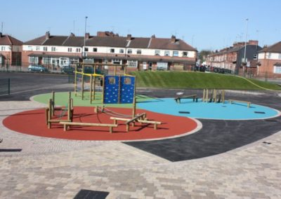 holy family school salford playground surfacing