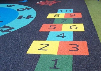 Hopscotch Play Marking