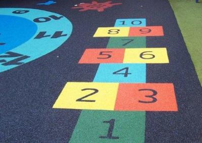 Hopscotch Play Marking