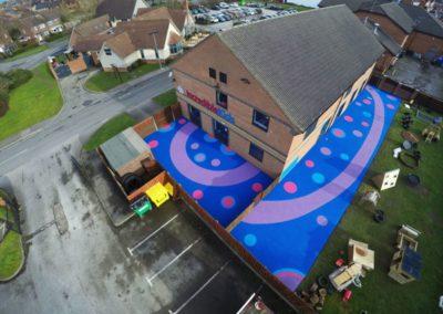 incredible kids nursery safety surfacing