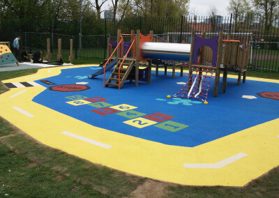 Nursery Wet Pour Playground Surfacing