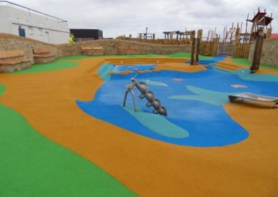 Adventure Park coloured surfacing