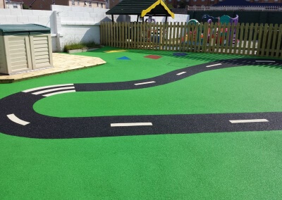 Toddlers Playground Surfacing Birmingham