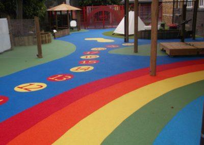 wiltshire primary school play surfacing