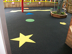 Wulstan nursery Playground Surfacing