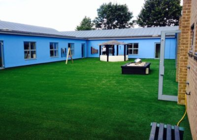 Artificial grass playground Bicester