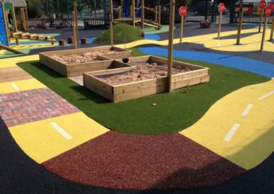 Playground Plumcroft Primary School London