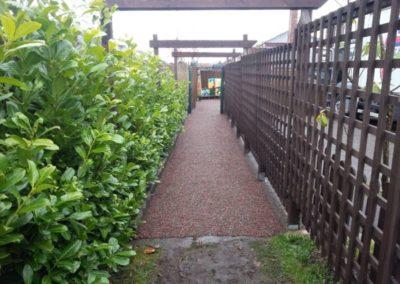 Small Wonders Nursery St Helens Mulch Pathway