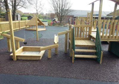 Birmingham Primary School bonded rubber play ground