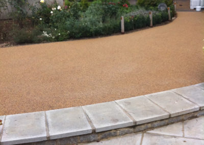 Porous resin bound gravel