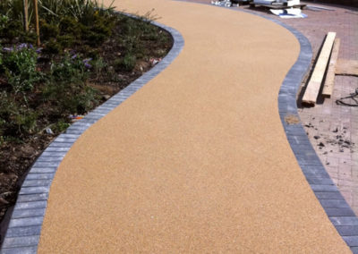 Resin bound walkways