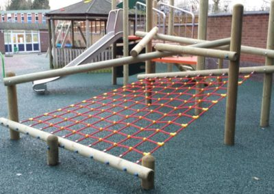 Rubber Bonded playground Leicester