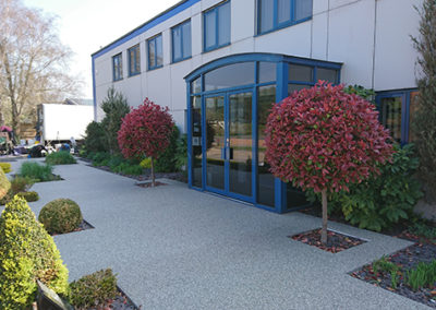 resin bound gravel entrance