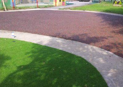 Bonded Rubber Fitzwilliam Primary School Swinton
