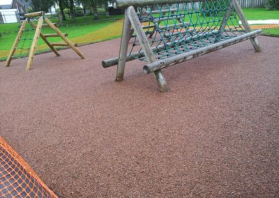 Vicarage Park Kendal Playground Rubber Mulch