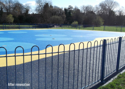 St Albans Splash Park Wet Pour Surfacing