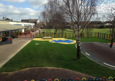 Primary School Completed Playground Surfacing