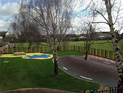 Canvey Island Primary School, Playground Surfacing