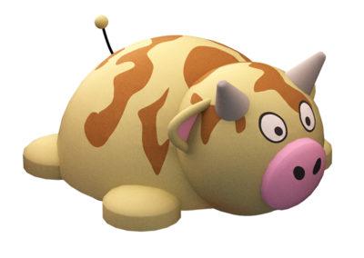 Cow 3D Animal