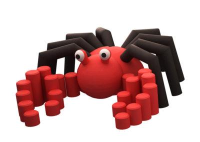 Crab 3D Animal