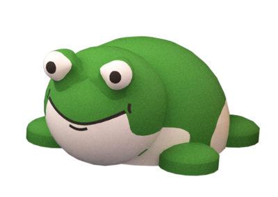 Frog 3D Animal