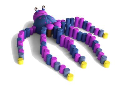 Octopus 3D Animal