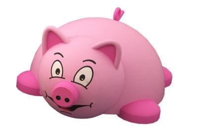 Pig 3D Animal