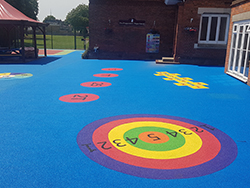 Educational Graphics and Wetpour, St Dunstans