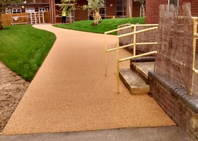 Primary School Resin Bound Gravel