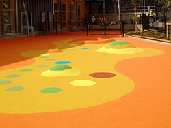 Cherry Orchard Academy, Wet Pour Surfacing