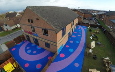 From EPDM to TPV Rubber Granules in Wet Pour Surfacing